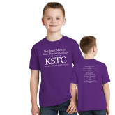 Youth Purple T Shirt-KSTC