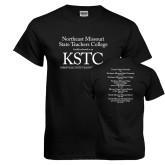 Black T Shirt-KSTC
