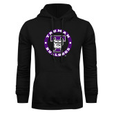 Black Fleece Hoodie-Truman Bulldogs Circle