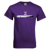 Purple T Shirt-BEWAREOFDOG