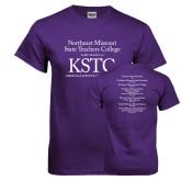 Purple T Shirt-KSTC