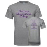 Grey T Shirt-Northeast Missouri State College