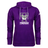 Adidas Climawarm Purple Team Issue Hoodie-Primary Mark