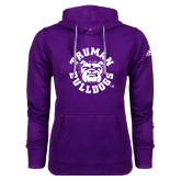 Adidas Climawarm Purple Team Issue Hoodie-Secondary Mark