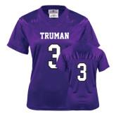 Ladies Purple Replica Football Jersey-#3