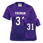 Ladies Purple Replica Football Jersey-#31