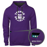 Contemporary Sofspun Purple Hoodie-Secondary Mark