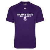 Under Armour Purple Tech Tee-Bulldog