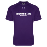 Under Armour Purple Tech Tee-Bulldogs Baseball