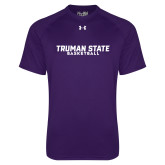 Under Armour Purple Tech Tee-Bulldogs Basketball