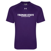 Under Armour Purple Tech Tee-Bulldogs Athletics