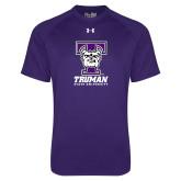 Under Armour Purple Tech Tee-Primary Mark