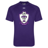 Under Armour Purple Tech Tee-Soccer