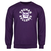 Purple Fleece Crew-Secondary Mark