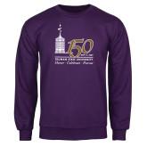 Purple Fleece Crew-150th Anniversary