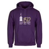 Purple Fleece Hoodie-150th Anniversary