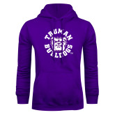 Purple Fleece Hoodie-Secondary Mark