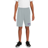 Youth Silver Competitor Shorts-Bulldog T