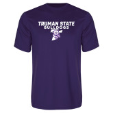 Performance Purple Tee-Bulldog T