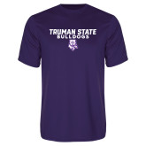 Performance Purple Tee-Bulldog