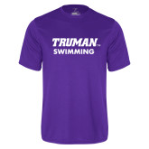 Syntrel Performance Purple Tee-Swimming