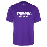 Syntrel Performance Purple Tee-Alumni
