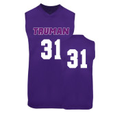 Replica Purple Adult Basketball Jersey-#31