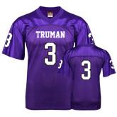 Replica Purple Adult Football Jersey-#3