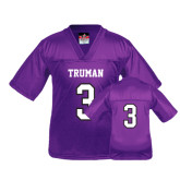 Youth Replica Purple Football Jersey-#3