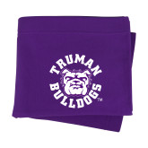 Purple Sweatshirt Blanket-Secondary Mark