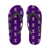 Ladies Full Color Flip Flops-Primary Mark