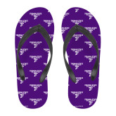 Full Color Flip Flops-Bulldog T