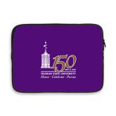 13 inch Neoprene Laptop Sleeve-150th Anniversary