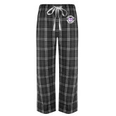 Black/Grey Flannel Pajama Pant-Secondary Mark
