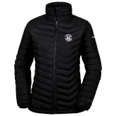 Columbia Mighty LITE Ladies Black Jacket-Secondary Mark