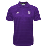 Adidas Climalite Purple Jacquard Select Polo-Secondary Mark