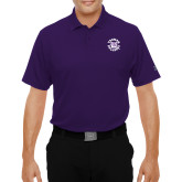 Under Armour Purple Performance Polo-Secondary Mark