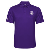 Adidas Climalite Purple Game Time Polo-Secondary Mark