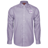 Red House Purple Plaid Long Sleeve Shirt-Secondary Mark