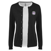 Ladies Black Cardigan-Secondary Mark