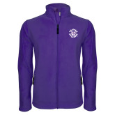 Fleece Full Zip Purple Jacket-Secondary Mark