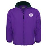 Purple Survivor Jacket-Truman Bulldogs Circle