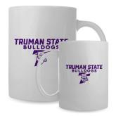 Full Color White Mug 15oz-Bulldog T