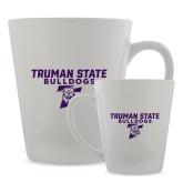 Full Color Latte Mug 12oz-Bulldog T