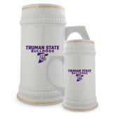 Full Color Decorative Ceramic Mug 22oz-Bulldog T