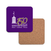 Hardboard Coaster w/Cork Backing-150th Anniversary