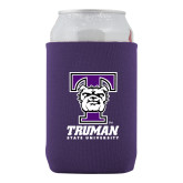 Collapsible Purple Can Holder-Primary Mark
