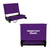 Stadium Chair Purple-Alumni Script