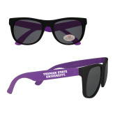 Purple Sunglasses-Wordmark