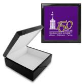 Ebony Black Accessory Box With 6 x 6 Tile-150th Anniversary